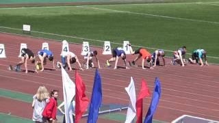 Чемпионат и первенство Йошкар-Олы по легкой атлетике. 12 июня 2017. 60 метров, мужской финал