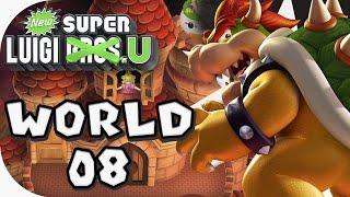 New Super Luigi U: World 08 (4 players)