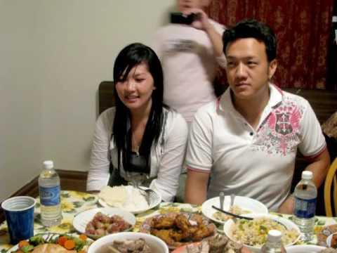 Uncle Nhia Long & his wife