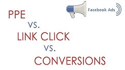Facebook Ads - Post Engagement, Link Click or Conversion Goal?