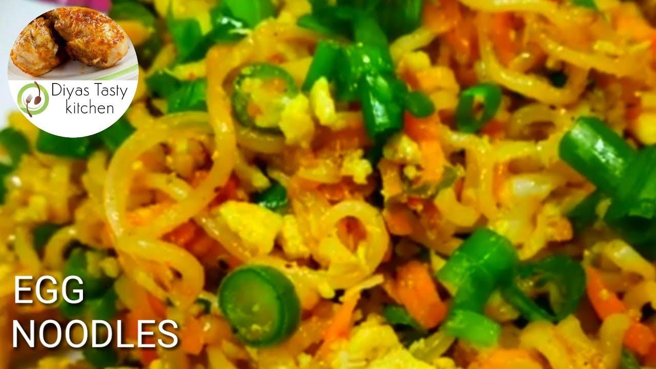 Egg Noodles Recipe in Tamil l Egg Noodles la How to make ...