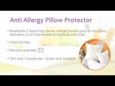Anti-Allergy Protector for Pillow, Down and Mattress
