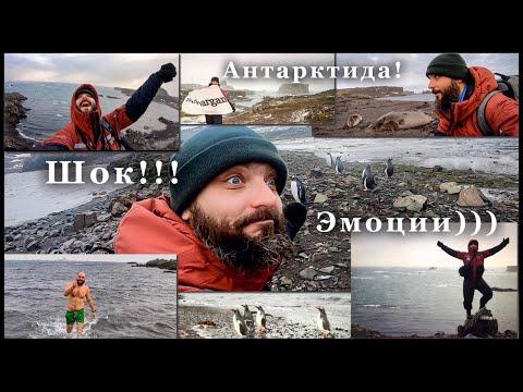 Пролив Дрейка! Первые эмоции от Антарктиды! Искупался в Южном океане!