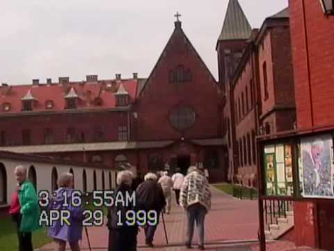 Mum's trip to Poland in 1999. Wieliczka Salt Mines; and Auschwitz Concentration Camp Memorial
