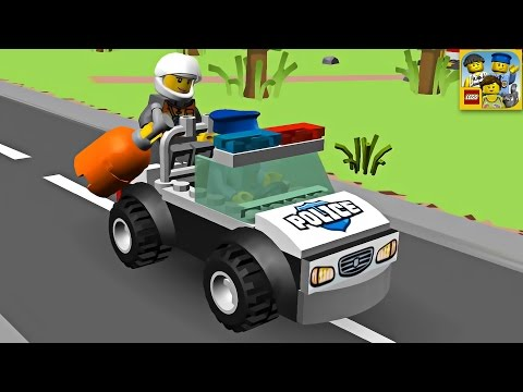 Lego Police Car, Cartoon about Lego - Best Game for Children on Android & IOS