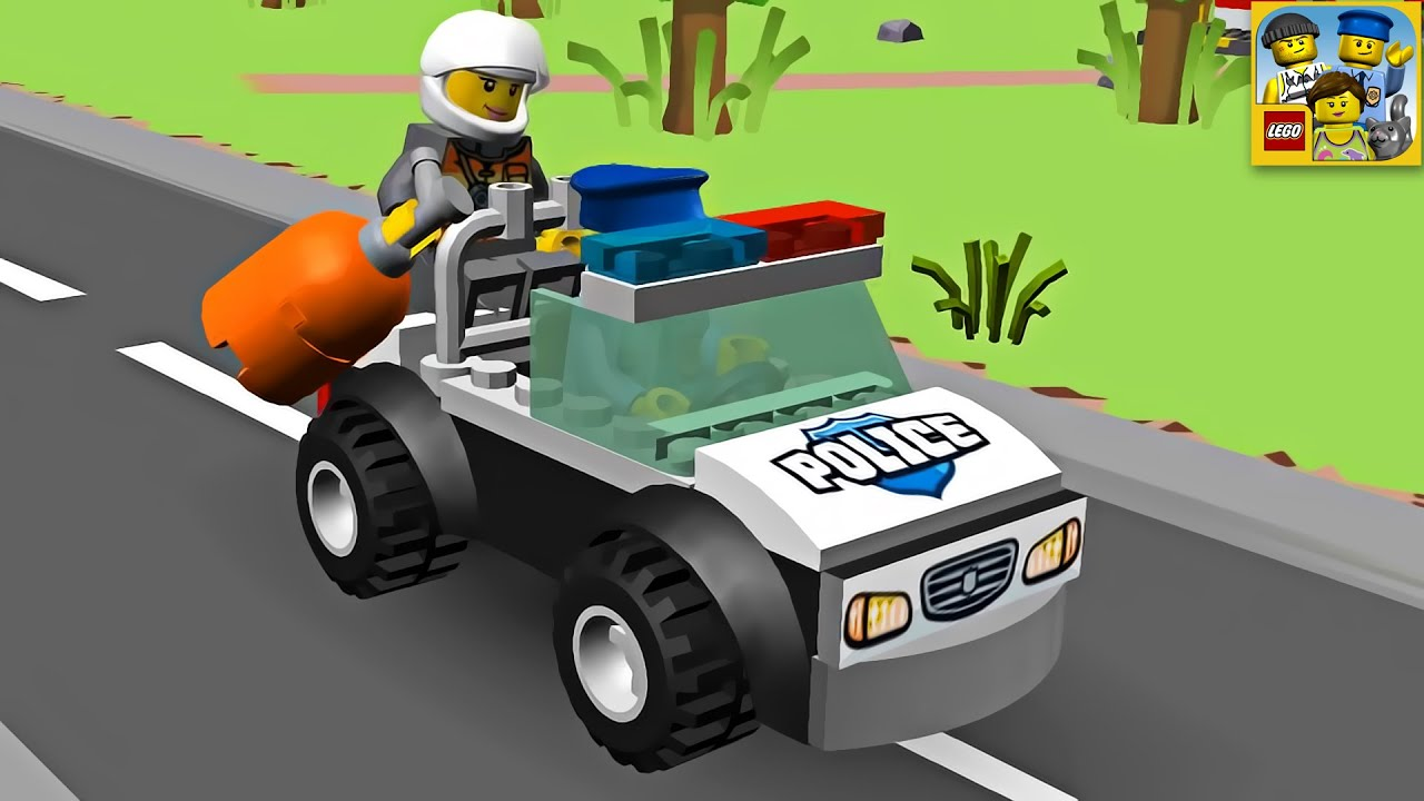 Police Car Game online free for kids - Learn4Good.com