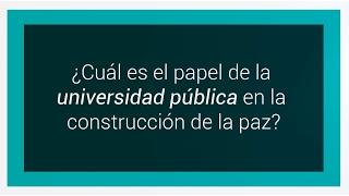 Universidades públicas Bogotá