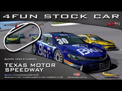 4FUN Stock Car – AMS – Texas Motor Speedway-EUA
