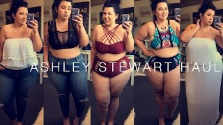 PLUS SIZE FASHION TRY ON HAUL | Ashley Stewart