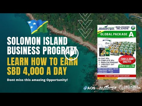 EC SOLOMON ISLAND BUSINESS PRESENTATION AND LEARN HOW TO EARN SBD 4,000 A DAY