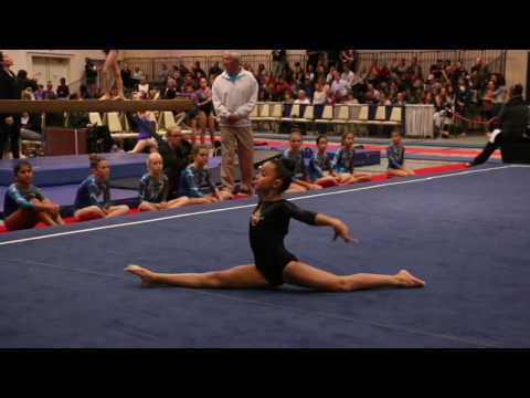 Makena Jarrett 1st Floor SoCal South State 2016 Wildfire Gymnast Level 3
