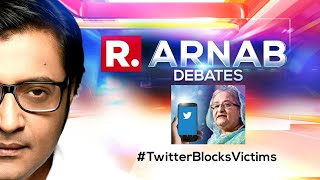 Twitter Trying To Silence Atrocities Against Hindus In Bangladesh?   The Debate With Arnab Goswami