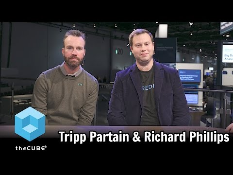 Tripp Partain, HPE & Richard Phillips, GE Digital - HPE Discover 2016 - #HPEdiscover - #theCUBE
