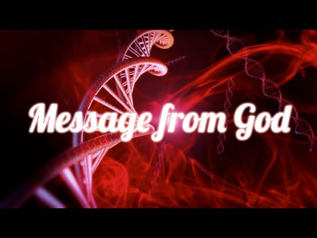 There's a Message from God in our DNA This is Amazing!