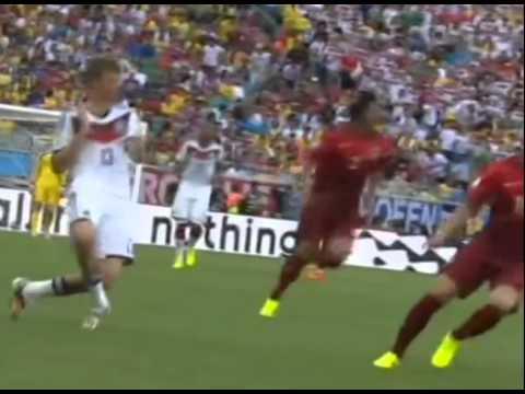 Германия Португалия 4-0 ПОЛНЫЙ ОБЗОР ВИДЕО ВСЕХ ГОЛОВ ЧМ 2014 ВСЕ Голы