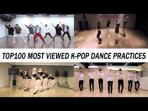 [TOP 100] MOST VIEWED K-POP DANCE PRACTICES • September 2018