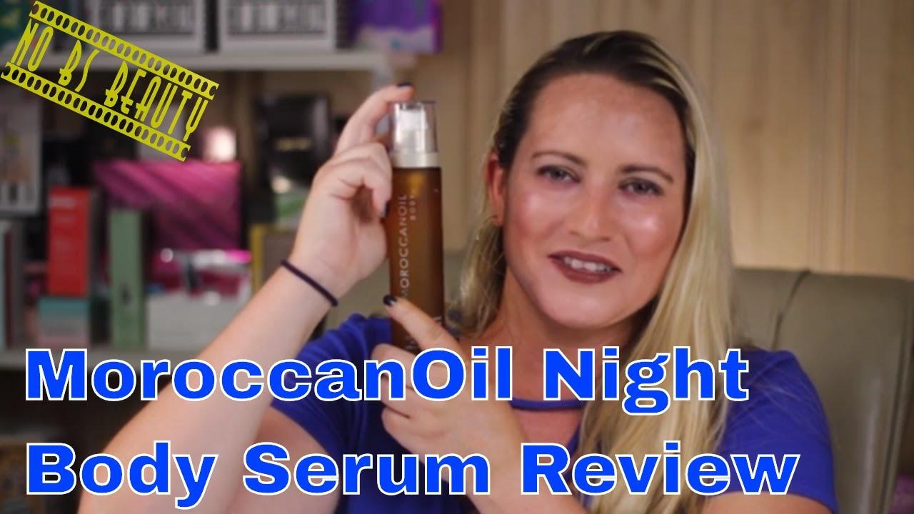 Moroccan Oil 🆕 Night Body Serum Review