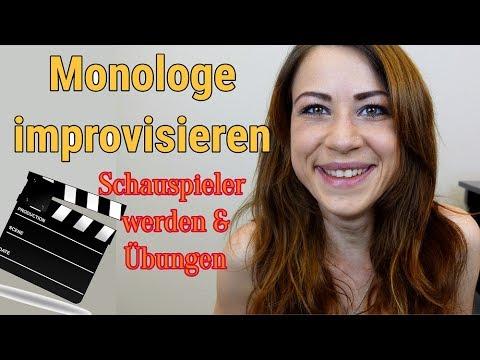Zum Üben Monologe