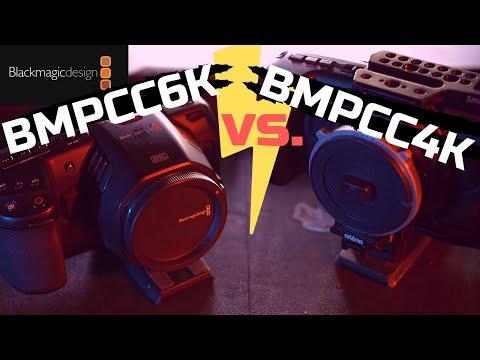 BlackMagic Pocket Cinema Camera Showdown - 6K Vs 4K - Real World Tests & Comparisons!