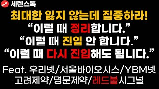 [실전매매]최대한 잃지 않는데 집중하라! 우리넷/서울바…
