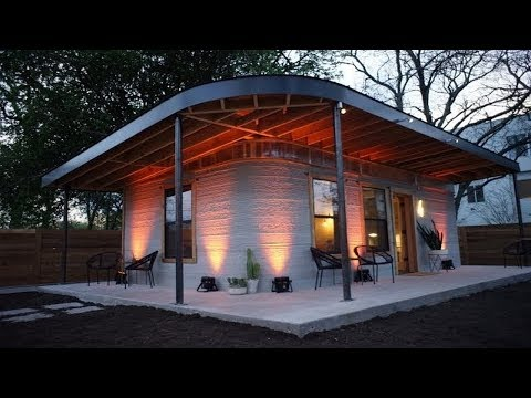 This cheap house printed in 3D is a start for the billions that lack housing.