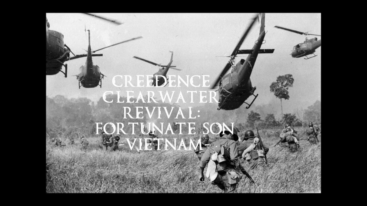 CCR - Fortunate Son (Vietnam War Clips)