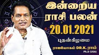 Raasi Palan 20-01-2021 Rajayogam Tv Tamil Horoscope