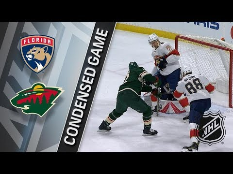 Florida Panthers vs Minnesota Wild – Jan. 02, 2018 | Game Highlights | NHL 2017/18. Обзор матча