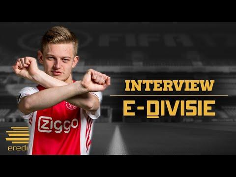 Dani Hagebeuk | Ajax | Interview | E-Divisie