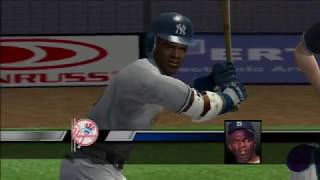 Pitching a Perfect Game in MVP Baseball 2005 (Xbox, 720p)
