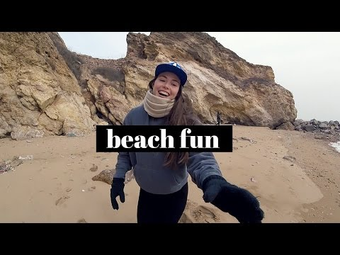 BEACH FUN IN QINGDAO, GOPRO SESSION