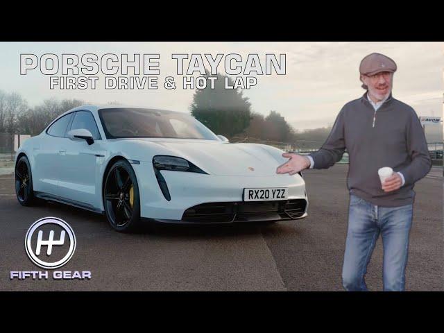 Plato's Porsche Taycan First Drive & Hot Lap | Fifth Gear