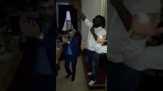 Французская песня на Даргинской свадьбе в зале Раял в Кизляре