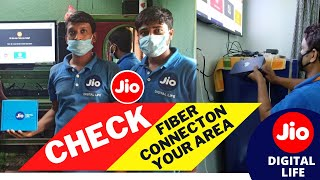How To Check JIO Fiber Connection In My Area