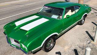 Test Drive 1971 Oldsmobile Cutlass $19,900 Maple Motors