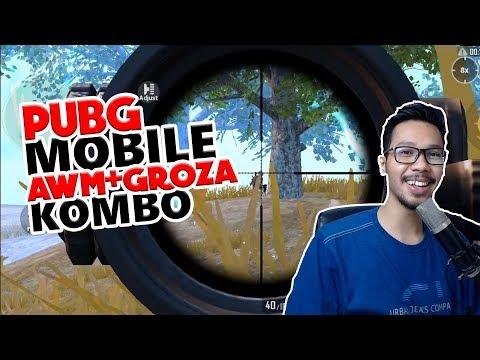 KOMBO MAUT GROZA+AWM - PUBG MOBILE INDONESIA