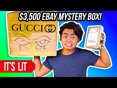 $3,500 VS $20 EBAY MYSTERY BOX! (Gucci)