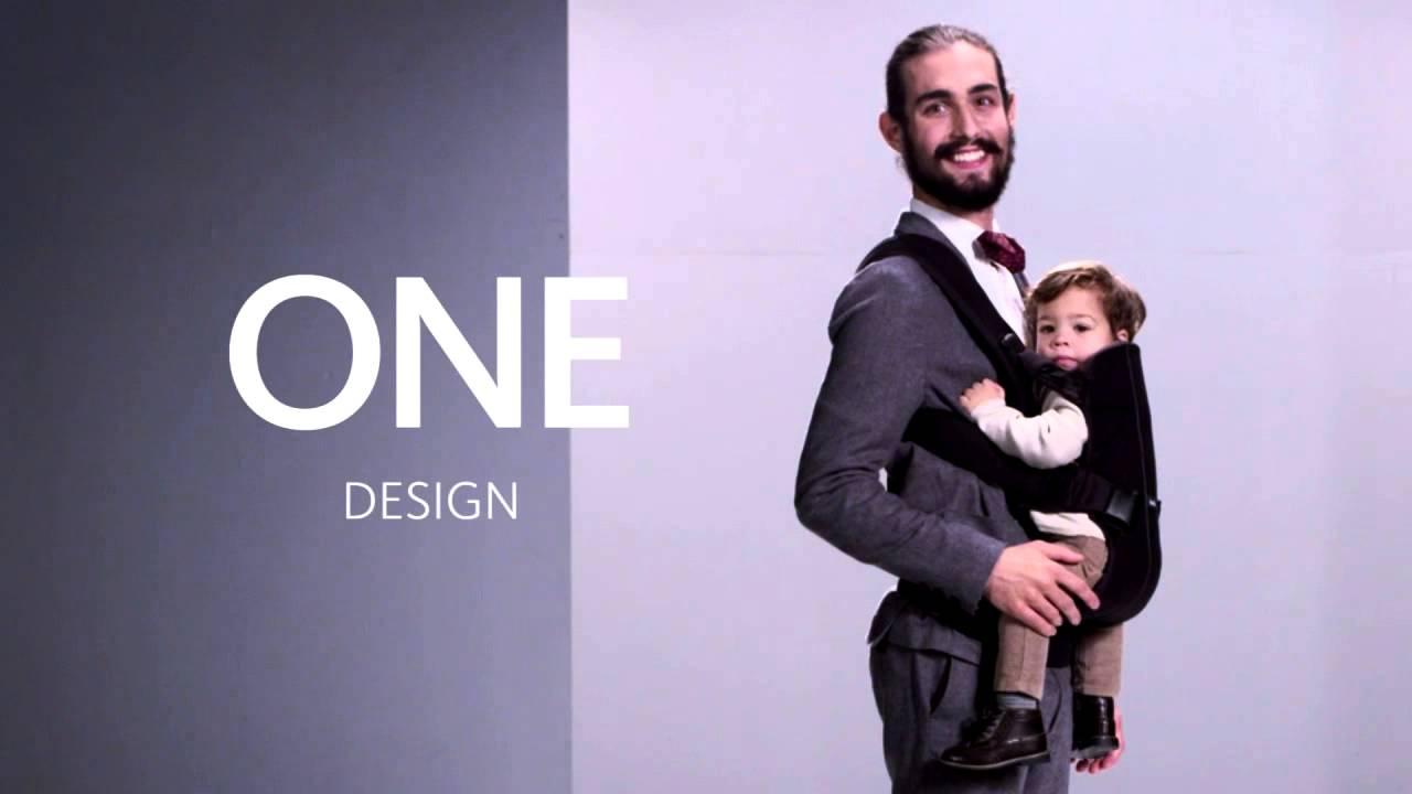1b610810ad0e Porte bébé One   Nouvelle génération BabyBjörn - YouTube
