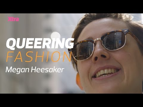 How clothing helped andro babe Megan come out