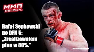 DFN 5: Rafał Sępkowski zrewanżował się Fryderykowi Dąbalowi w krwawej walce
