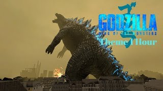 Godzilla King of the Monsters Theme 1 hour