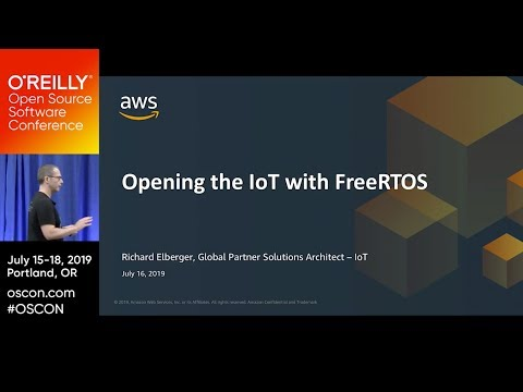 Opening the IoT with FreeRTOS