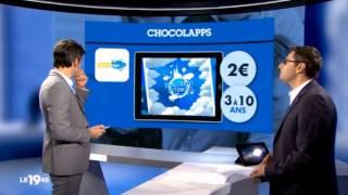 Les applications pour les vacances: Chocolapps est dans le 19.45 sur M6 !
