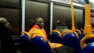 Ghanaian vs Nigerian Argument on a London Bus