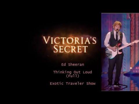 Видео: Ed Sheeran-Thinking Out Loud Full - Victorias Secret Fashion Show 2014-