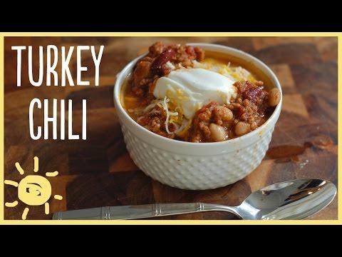 EAT | Slow Cooker Turkey Chili Recipe