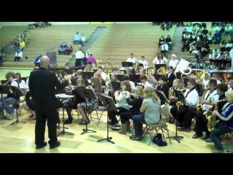 My 12 year old son Dakota's 6th. Grade Band Concert (Morgan Co. Middle School)