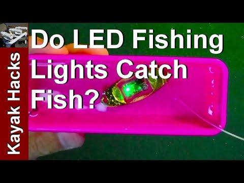 Do Flashing LED Fishing Lures Work? The TEST!