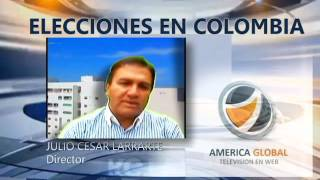 ELECCIONES 2015 EN COLOMBIA EN DIRECTO  america global tv