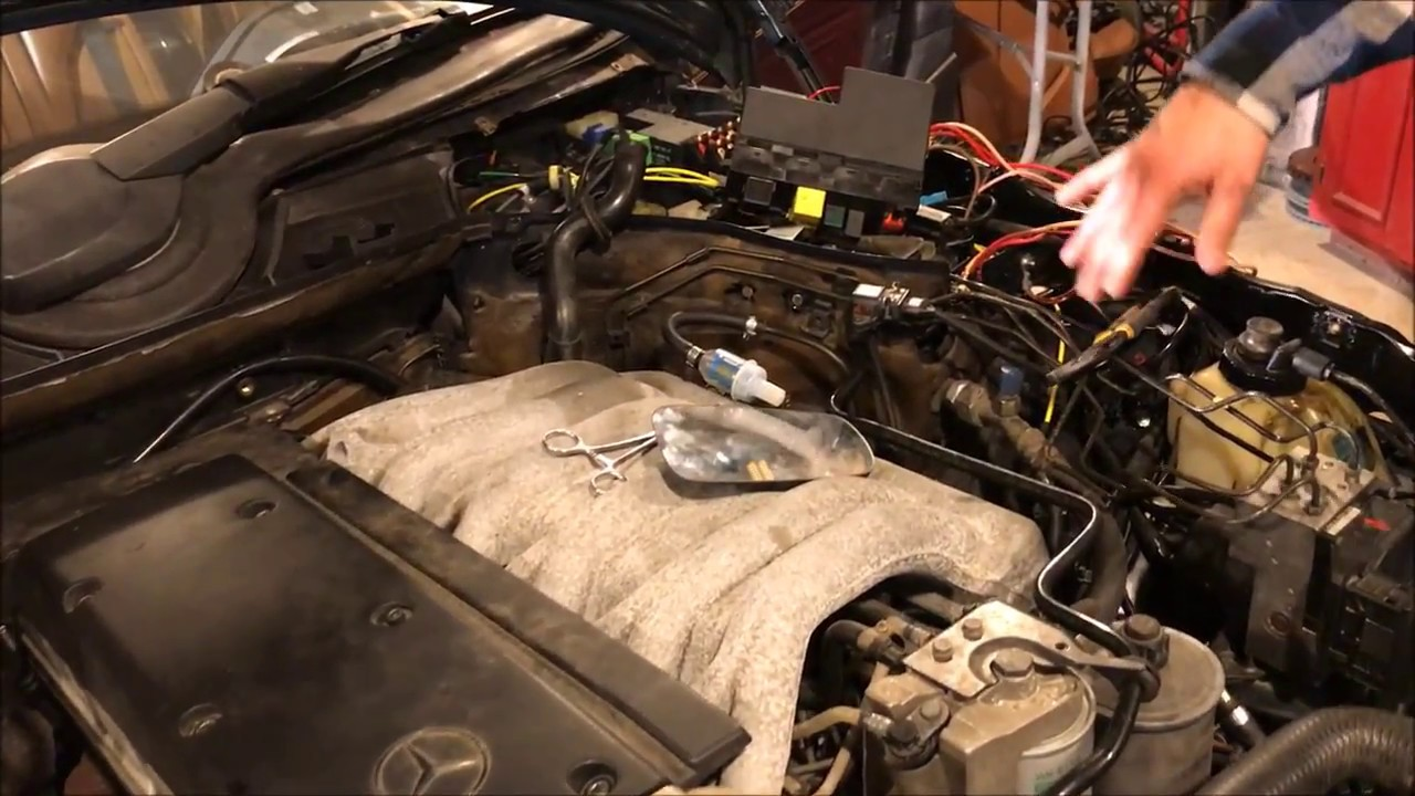 1999 OM606 Turbo Diesel Swap Into 1995 W124 Wagon